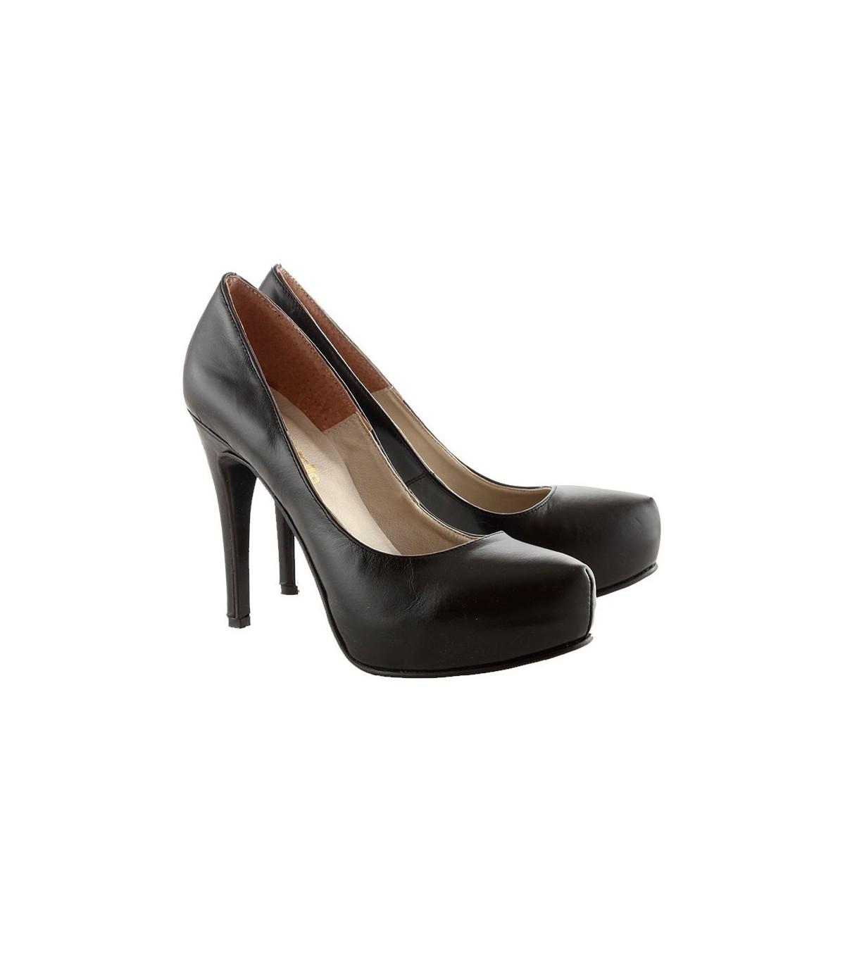 mejor selección 7c576 8e97c Stilettos de cuero negro – Zapatos de mujer – Batistella.com.ar