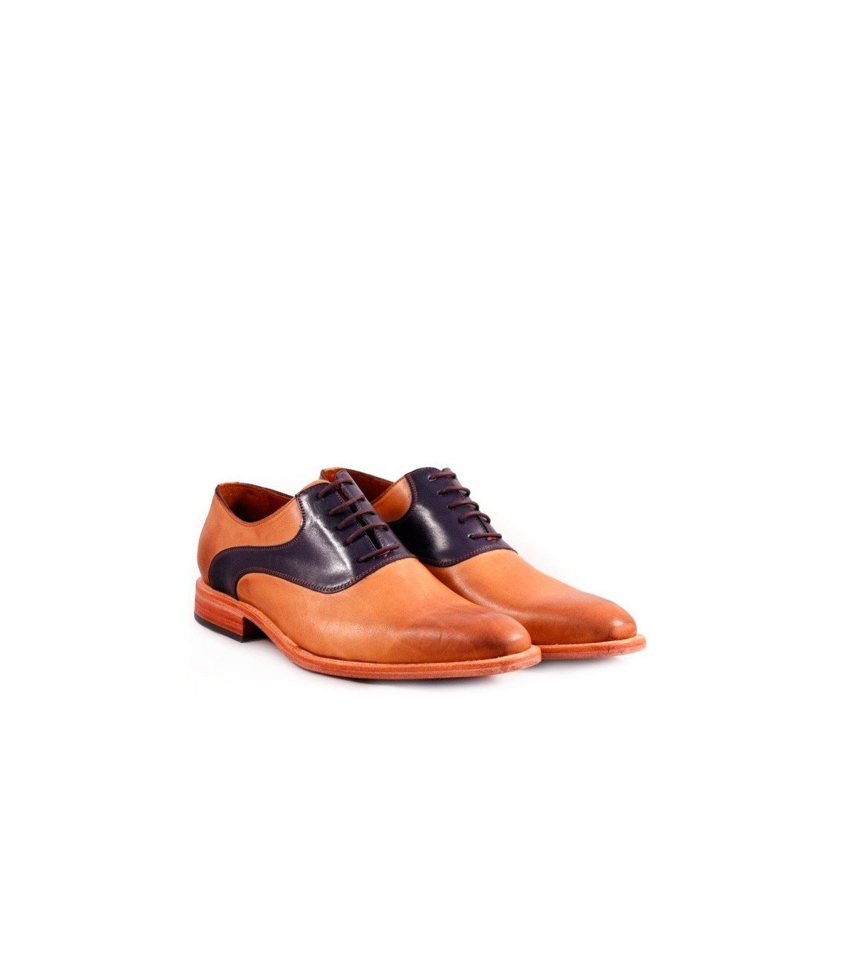 Zapatos De Vestir De Cuero Suela Hombres Batistella