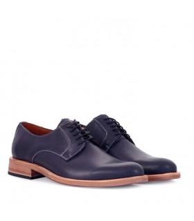 Zapatos de cuero azul