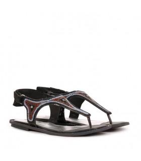 Sandalias de PVC negro
