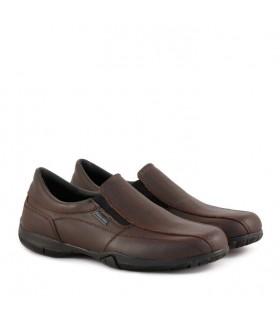 Zapatos náuticos colegiales escolares varón de cuero