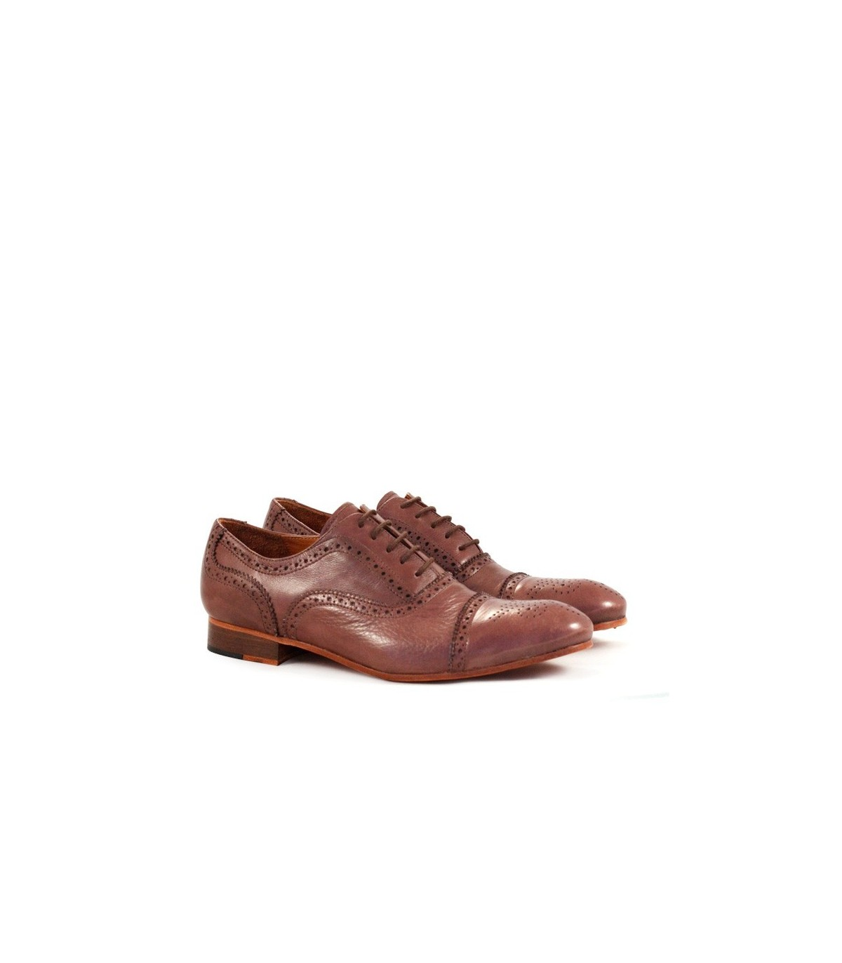 super popular 781a4 0921f Zapatos de vestir de cuero marrón | Hombres | Batistella