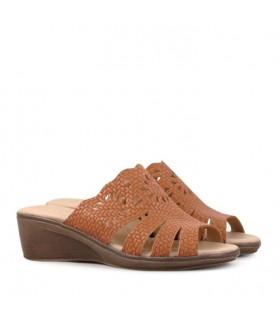 Sandalias de cuero suela