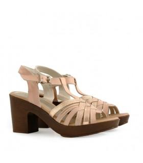 Sandalias de cuero negro