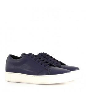 Zapatillas de cuero azul - CONCEPT