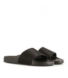 Sandalias en glisten negro