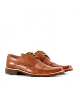Zapatos de vestir en safari/olmo