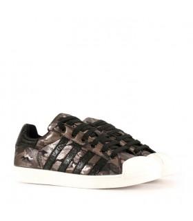 Zapatillas en negro/camuflado