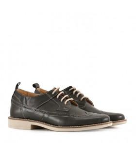 Zapato de vestir cuero negro