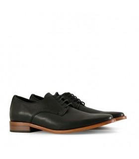 Zapatos de vestir en cuero negro - CONCEPT
