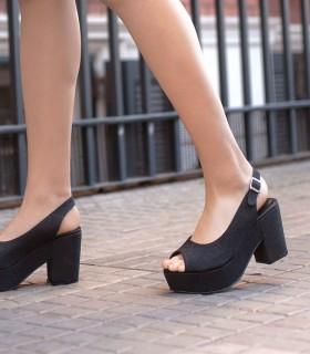 Sandalias de glisten negro