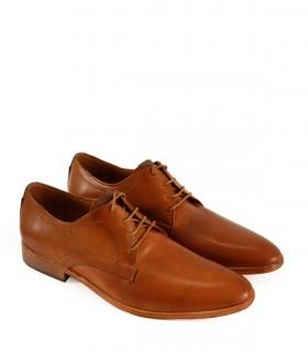 Zapatos de vestir acordonado en cuero suela
