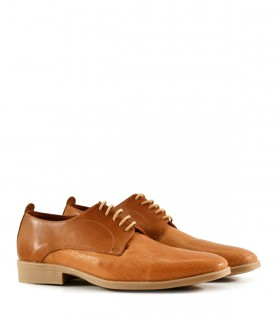 Zapatos de vestir en cuero suela trenzado