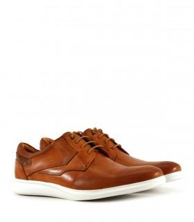 Zapatos de vestir acordonados en cuero suela