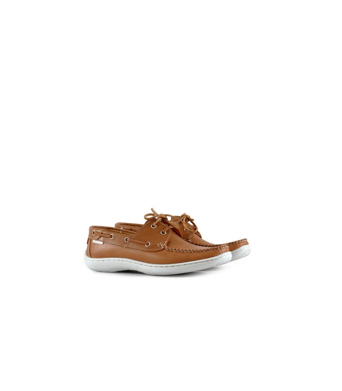 7fc32d40 Zapatos náuticos de cuero suela | Hombres | Batistella