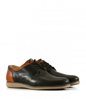 Zapatos de cuero en negro