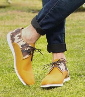 Zapatos de cuero en panama camuflado