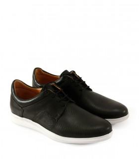 Zapatos urbanos en cuero negro