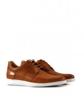 Zapatos urbanos en cuero suela