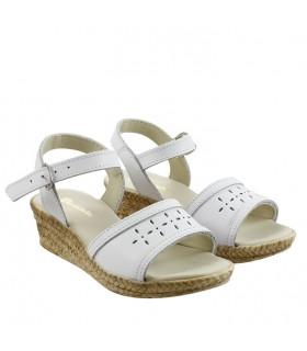 Sandalias de cuero para nenas