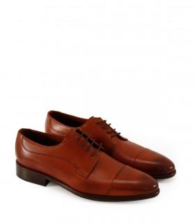 Zapatos de vestir en cuero suela oscuro