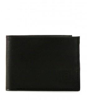 Billeteras de cuero en negro
