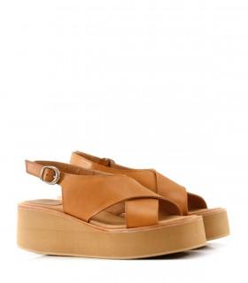 Sandalias de cuero en suela