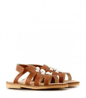 Sandalias de símil cuero en suela