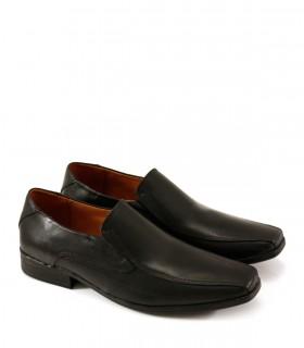 Zapatos  de vestir de cuero negro