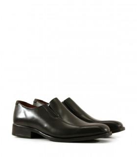 Zapatos de vestir de cuero negro slak