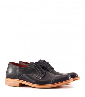 Zapatos de vestir de cuero azul