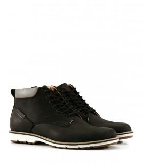 Botas de cuero engrasado negro