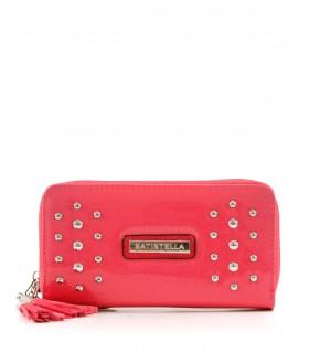 Billeteras de charol rosa