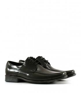 Zapatos de vestir acordonados en negro