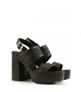 Sandalias clásicas  de cuero negro