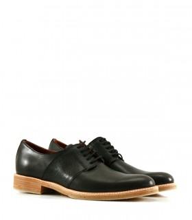 Zapatos de vestir en cuero con base de goma