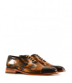 Zapatos de vestir en cuero alto brillo suela