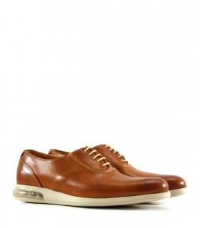 Zapatos acordonados en cuero suela