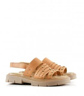 Sandalias de cuero en coco