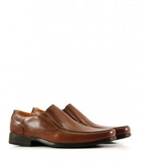Zapatos de cuero slak en tostado