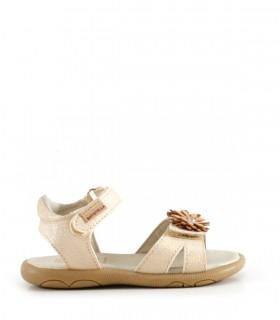 Sandalias de símil en beige