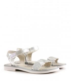 Sandalias de sìmil en plata