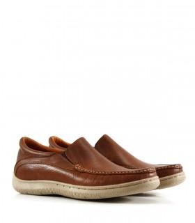Náuticos de cuero en marrón