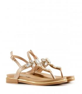 Sandalias de símil en natural