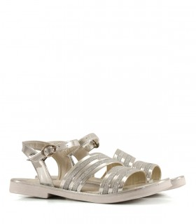 Sandalias de símil en plata