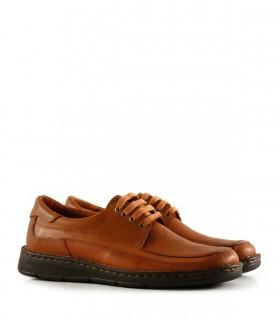 Zapatos confort de cuero en suela