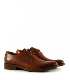 Zapatos de vestir de cuero en marrón