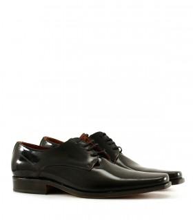Zapatos de vestir en charol negro