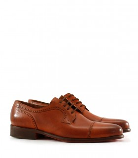 Zapatos de vestir de cuero en suela/oscuro