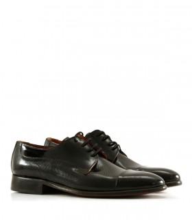Zapatos de vestir de charol negro
